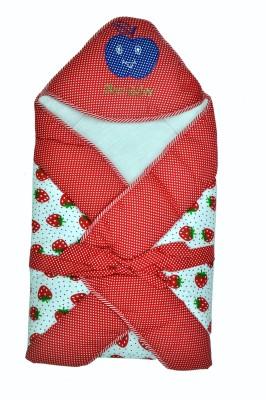 Jhankhi New Born Baby Soft Cotton Velcro Sleeping Bag(Red)