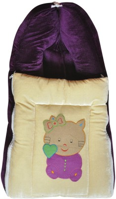 Chinmay Kids BABY CARE VELVET CARRYNG AND BEDDING Sleeping Bag(Multicolor)