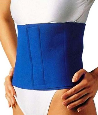 Welcome India Bazaar wib waist trimmer Slimming Belt(Blue)