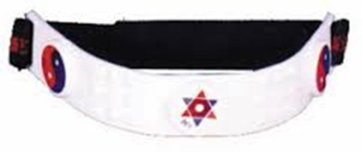 Acs Magnet Head Plastic Magnetic Slimming Belt(White)  available at flipkart for Rs.110