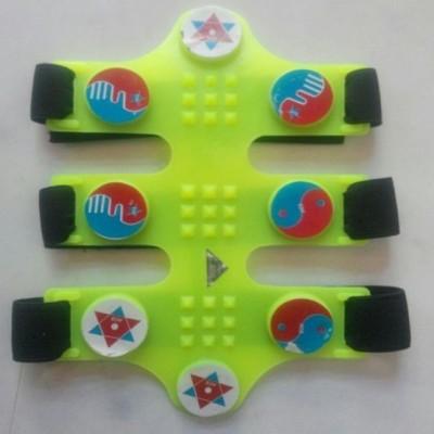 Acs Wonder Knee blet Plastic Magnetic Slimming Belt(Green)