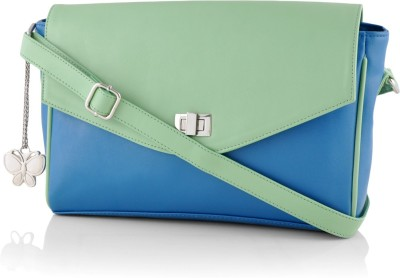 Butterflies Sling Bag(Blue) at flipkart