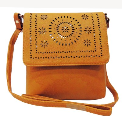 Mex Cutwork Multicolor Sling Bag at flipkart