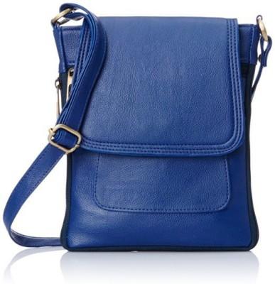 Anas Blue Sling Bag at flipkart