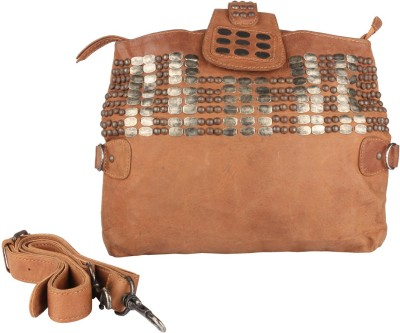 JL Collections Brown Sling Bag