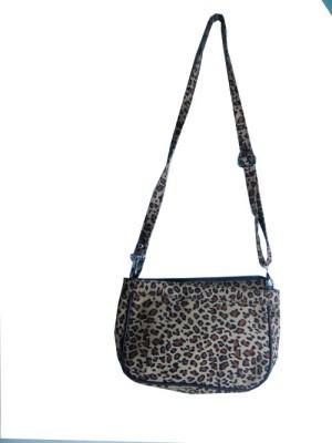 Essart Girls Brown PU Sling Bag