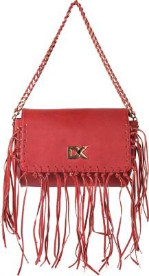 Diana Korr Women Red PU Sling Bag at flipkart