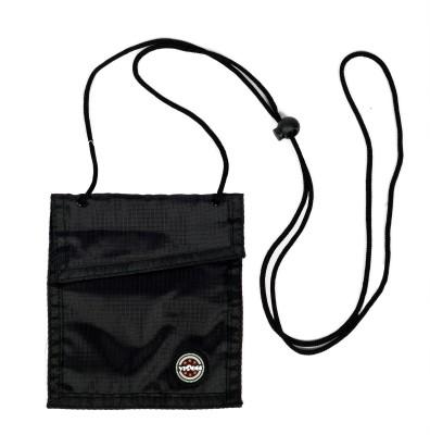 Viaggi Men Black Polyester Sling Bag