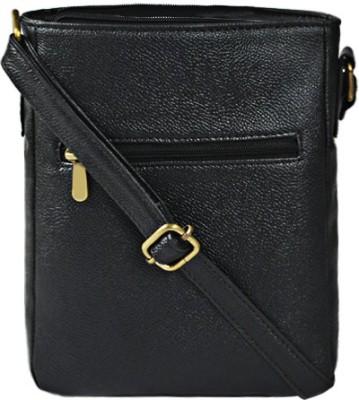 Bagsy Malone Women Black PU Sling Bag at flipkart