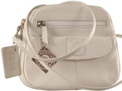 Buy eZeeBags Women Casual White Genuine Leather Sling Bag on Flipkart    PaisaWapas.com ad7a4b44e3