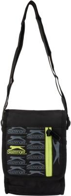 Slazenger Men & Women Black Polyester Sling Bag