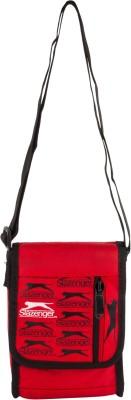 Slazenger Men & Women Casual Red, Black Polyester Sling Bag