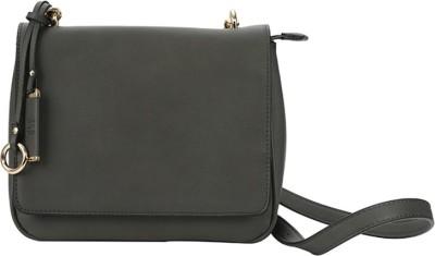 AND Women Casual Grey PU Sling Bag