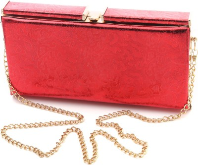 Foolzy Women Red Leatherette Sling Bag at flipkart
