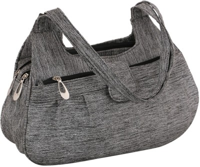 Sukkhi Women Grey PU Shoulder Bag