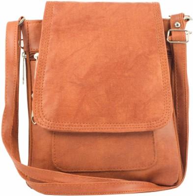 Raju purse collection Tan Sling Bag at flipkart