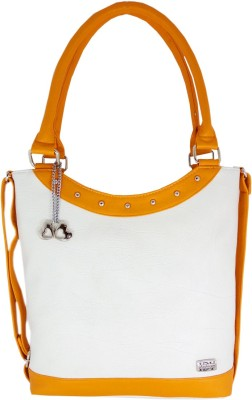 I Define You Women Multicolor PU Tote at flipkart