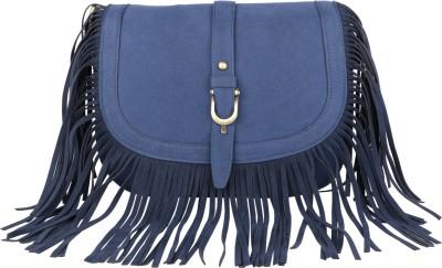 Lino Perros LWSL00219BLUE Blue Sling Bag at flipkart