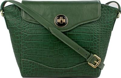 Hidesign SB Gisele 02 Green Sling Bag at flipkart