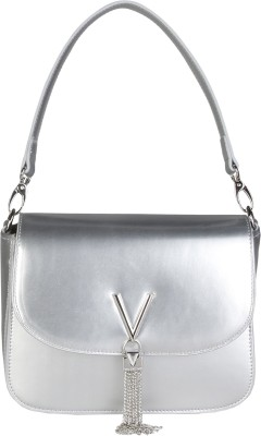 MARIO VALENTINO Silver Hand-held Bag at flipkart