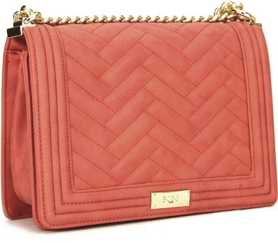 BC BG Pink Sling Bag at flipkart