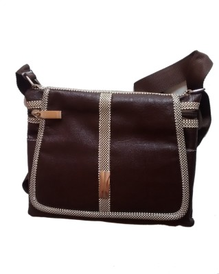 Fiable Women Multicolor Leatherette Sling Bag at flipkart