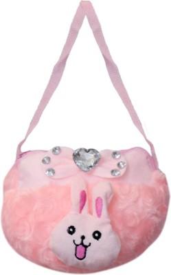 Arip Girls Pink Velvet Sling Bag  available at flipkart for Rs.139