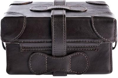 Hidesign Women Brown Genuine Leather Sling Bag  available at flipkart for Rs.4995