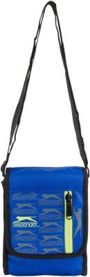 Slazenger Men & Women Casual Blue, Black Polyester Sling Bag