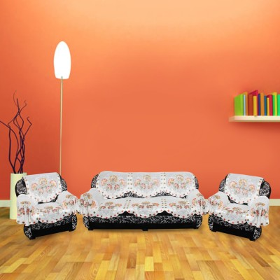 KINGLY Polyester Sofa Cover(Multicolor Pack of 12) at flipkart