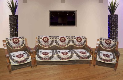 Sparklings Polycotton Sofa Cover(Multicolor Pack of 6) at flipkart