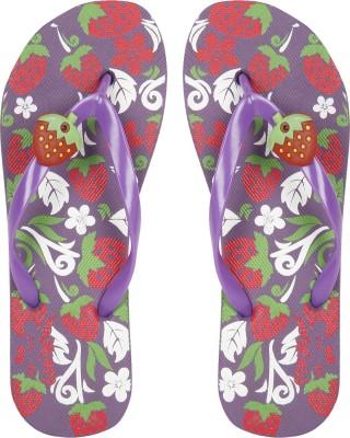 Earton Girls Slipper Flip Flop(Purple)  available at flipkart for Rs.148