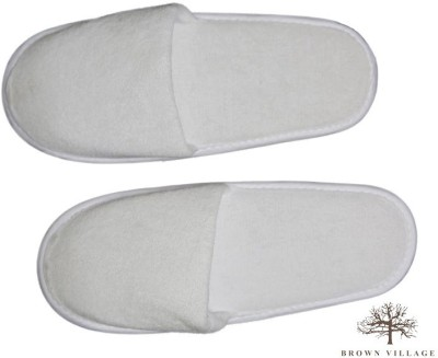 Brown Village Slippers