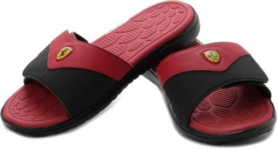 952ba667a Puma 30495301 Men Red And Black Ferrari Slip In Flip Flops- Price in India