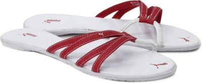 008a1e8028d Puma 30480003 Women Alonza Red And White Sandals - Best Price in ...