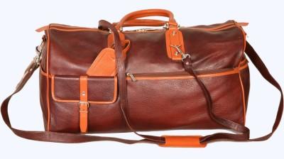 PE RBS12 Expandable Small Travel Bag   Medium Brown PE Small Travel Bags