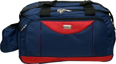 U United Blue Spacious Carry Small Travel Bag   Medium Blue, Red U United Small Travel Bags