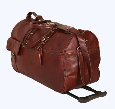 PE SHIC38 Expandable Small Travel Bag   Large Brown PE Small Travel Bags