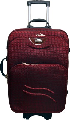 United Bags UTB24015 Foursquare Double Pkt Expandable Small Travel Bag   Medium Red
