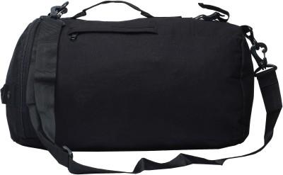 Walletsnbags Haversack Small Travel Bag   Medium Black Walletsnbags Small Travel Bags