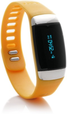 Lycos Life Advanced Interactive Smart Band, Alpenglow Orange(Orange Strap, Size : Regular) 1