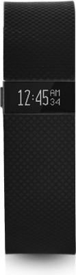 Fitbit Charge HR(Black Strap, Size : Small)