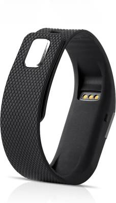 AJA Retail TW64 SmartBand Bracelet Pedometer SmartWatch For IOS Android Fitness Tracker Black Smartwatch (Black Strap Free Size)