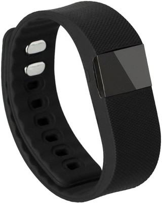 Phonoholic phonoHolic Bluetooth Smart Bracelet(Black Strap, Size : Regular) 1