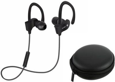 Flipfit Universal Bluetooth Music Headphone with Case 39 Smart Headphones(Wireless) 1