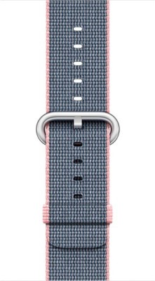 Apple MNK62ZM/A Smart Watch Strap(Pink, Blue) 1