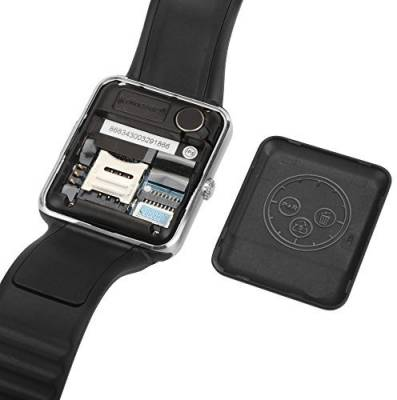Life Like GT08 BLUETOOTH WITH SIM & SD CARD SUPPORT BLACK Smartwatch