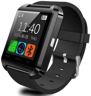 Zoon U8 Black Smartwatch