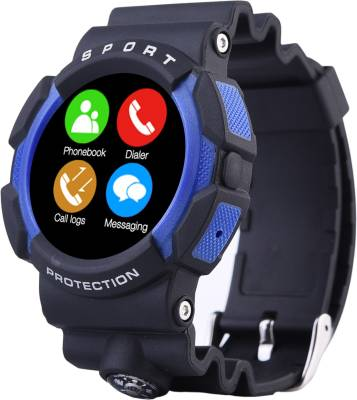 Bingo C3 Blue Bluetooth Smartwatch Waterproof Compatible with Android and IOS Smartwatch