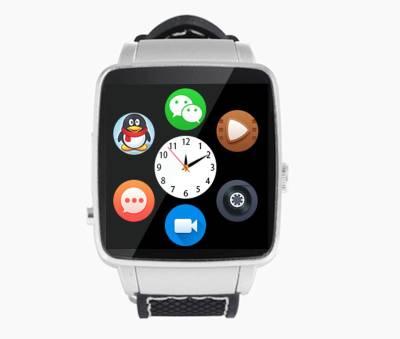 Bingo Mobile Watch Silver With Sim Slot Smartwatch